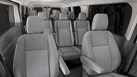 2017 Ford Transit Rich Passenger Comfort