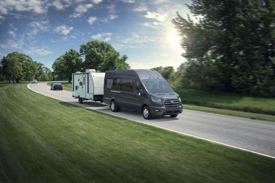 2020 Ford Transit Wagon Towing