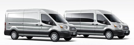 2016 Ford Transit Van Accommodating Configurations