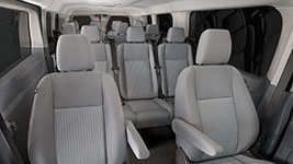 2016 Ford Transit Van Refined Cabin