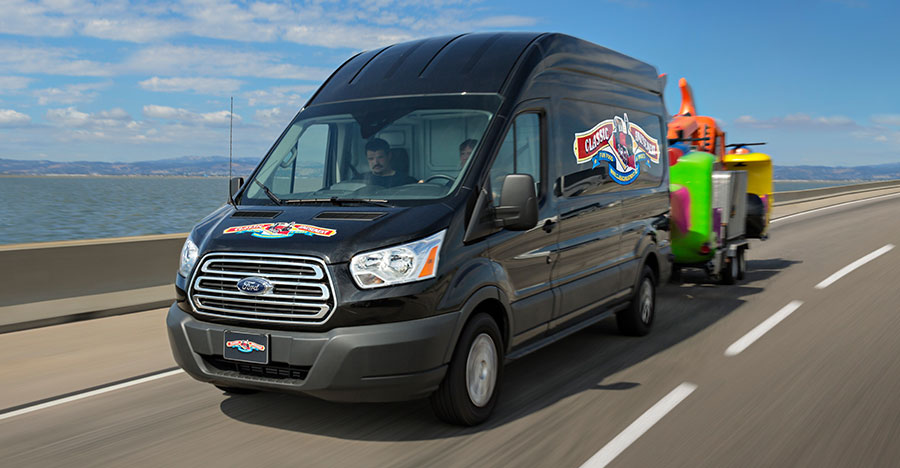 new Ford Transit Wagon
