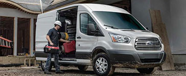 2017 Ford Transit Van Dual-Sliding Side Cargo Doors