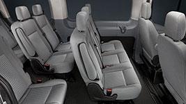 2017 Ford Transit Wagon Modern Cabin