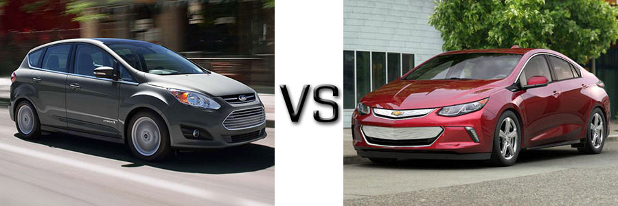 2017 Ford C-Max vs Chevrolet Volt