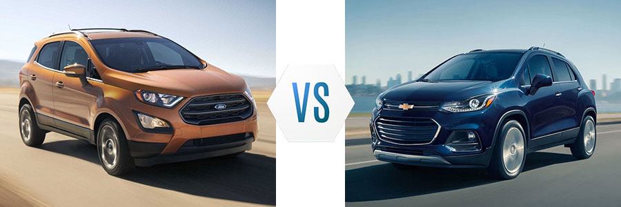 2018 Ford EcoSport vs Chevrolet Trax