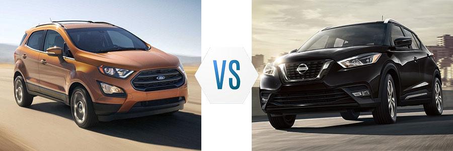 2018 Ford Ecosport vs Nissan Kicks