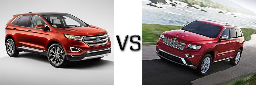 Both The  Ford Edge And The Jeep Grand Cherokee Have A Lot To Offer But We Like The Edge Overall Its Sleek Cabin Delivers Plenty Of Comfort And