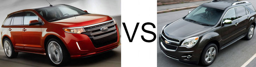 2015 Edge vs Chevrolet Equinox