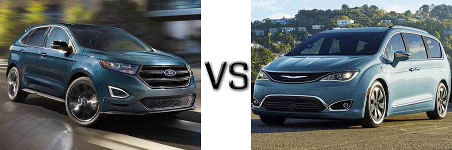 2017 Ford Edge vs Chrysler Pacifica