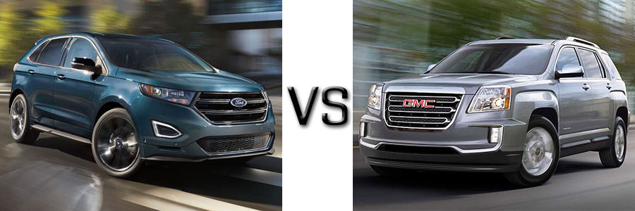 2017 ford edge vs gmc terrain. Cars Review. Best American Auto & Cars Review
