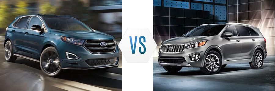 2017 Ford Edge vs Kia Sorento