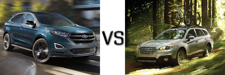 2017 Ford Edge Vs Subaru Outback