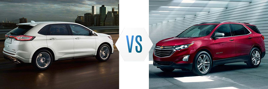2018 Ford Edge vs Chevrolet Equinox