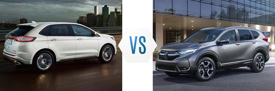 2018 Ford Edge vs Honda CR-V