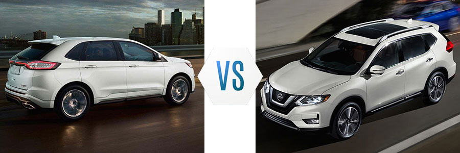 2018 Ford Edge vs Nissan Rogue