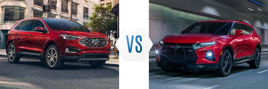 2019 Ford Edge vs Chevrolet Blazer