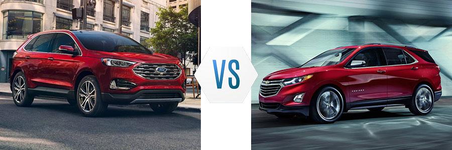 2019 Ford Edge vs Chevrolet Equinox