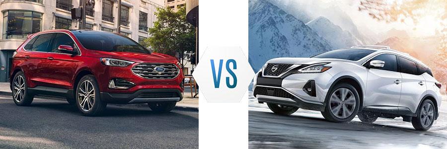 2019 Ford Edge vs Nissan Murano