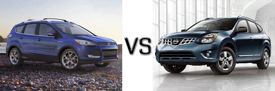 2015 Escape vs Nissan Rogue