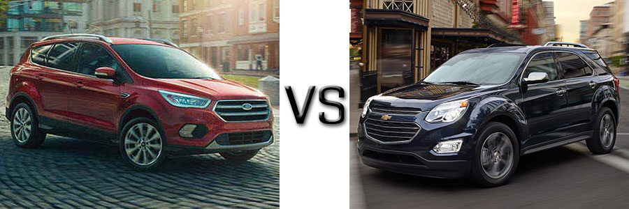 2017 Ford Escape vs Chevrolet Equinox