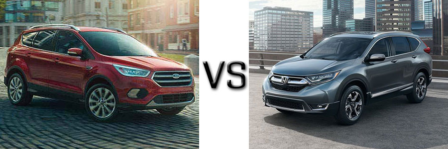2017 Ford Escape vs Honda CR-V