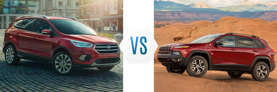 2017 Ford Escape vs Jeep Cherokee
