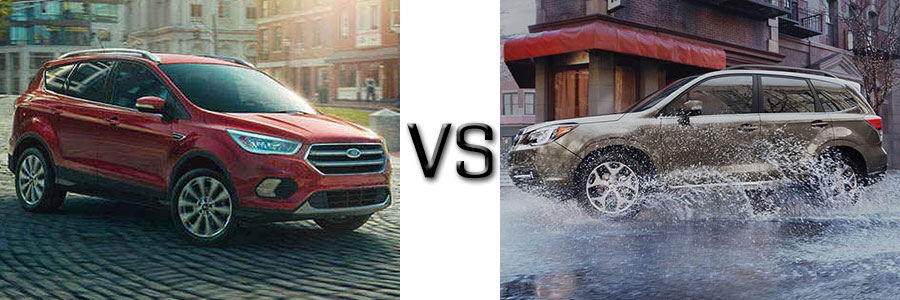 2017 Ford Escape vs Subaru Forester
