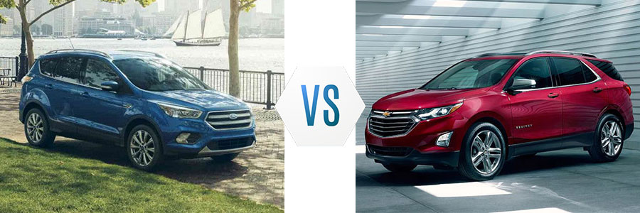 2018 Ford Escape vs Chevrolet Equinox