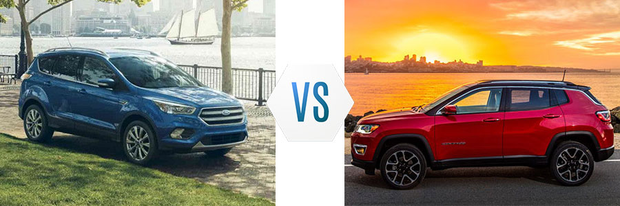 2018 Ford Escape vs Jeep Compass
