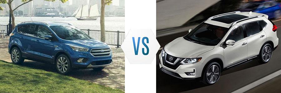 2018 Ford Escape vs Nissan Rogue