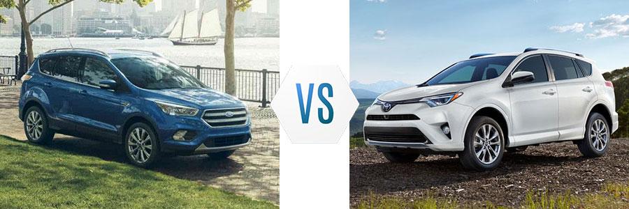 2018 Ford Escape vs Toyota RAV4