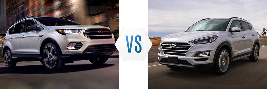 2019 Ford Escape vs Hyundai Tucson