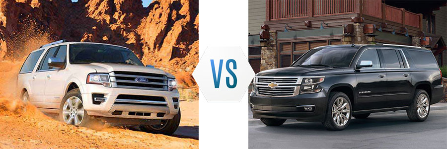 2017 Ford Expedition vs Chevrolet Suburban