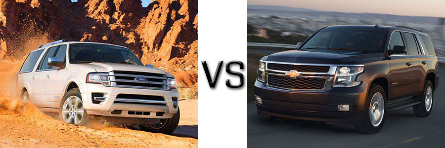2017 Ford Expedition vs Chevrolet Tahoe