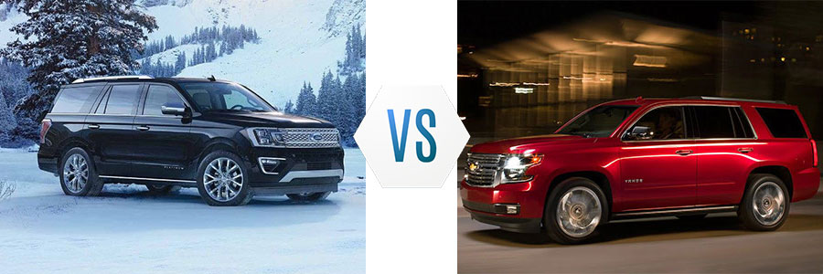 2018 Ford Expedition vs Chevrolet Tahoe