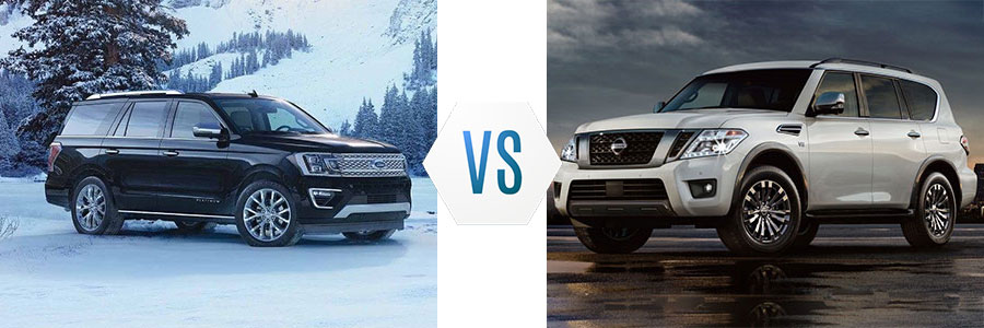 2018 Ford Expedition vs Nissan Armada