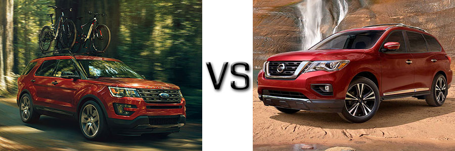 2017 Ford Explorer vs Nissan Pathfinder