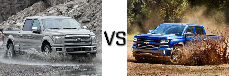 ford f 150 vs chevrolet silverado 1500