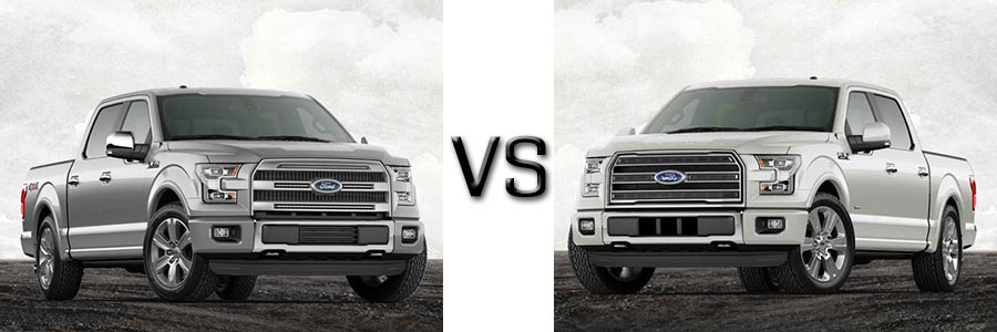 Used 2017 Ford F-150 Platinum vs Limited