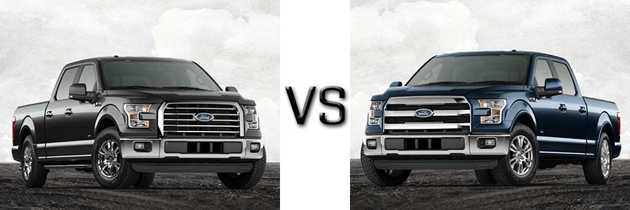 2017 Ford F-150 XLT vs Lariat