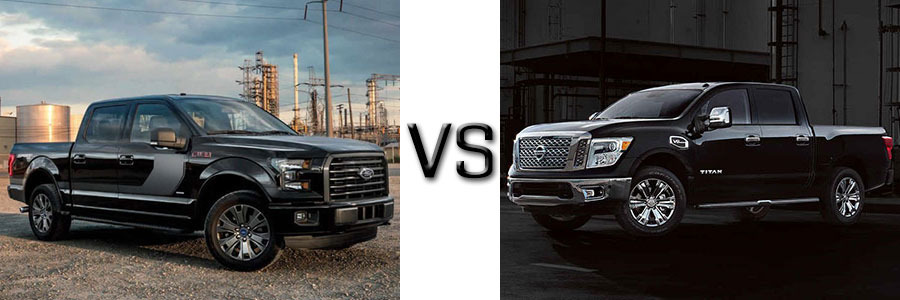 2017 Ford F-150 vs Nissan Titan