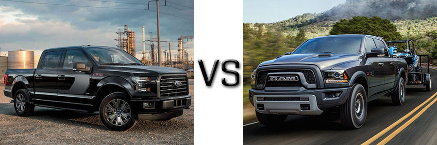 2017 Ford F-150 vs. Ram 1500 | Lafayette Ford Lincoln