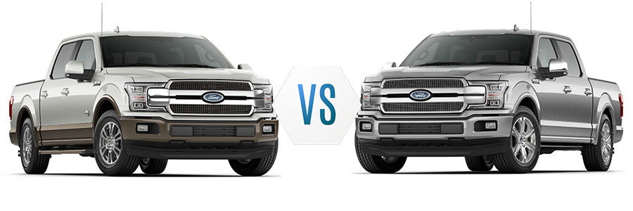 2018 Ford F-150 King Ranch vs Platinum-sda