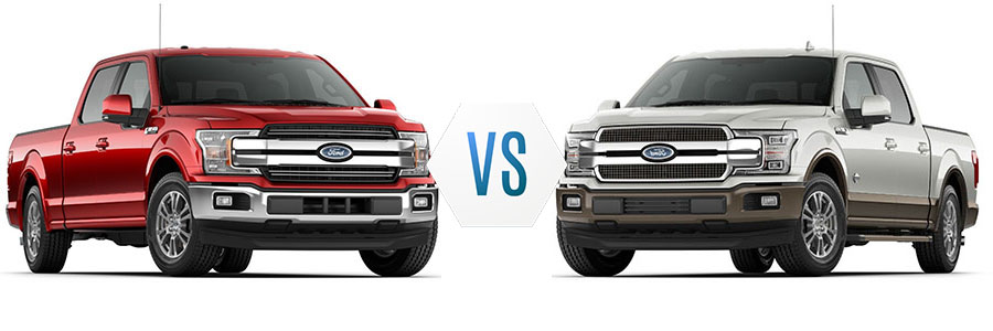 2018 Ford F-150 Lariat vs King Ranch