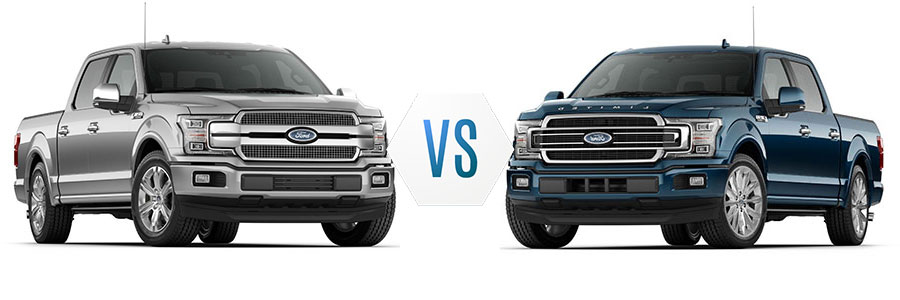2018 Ford F-150 Platinum vs Limited