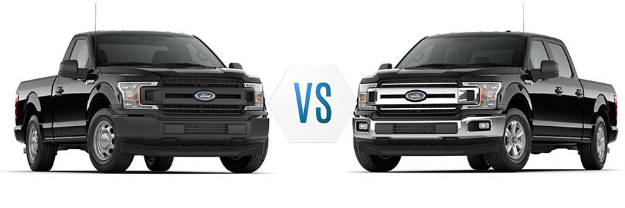2018 Ford F-150 XL vs XLT