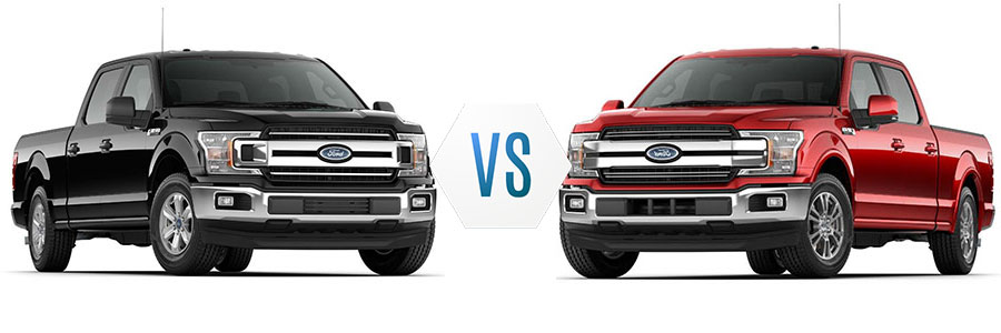 2018 Ford F-150 XLT vs Lariat