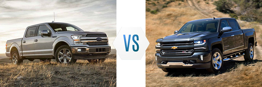 2018 Ford F-150 vs Chevy Silverado 1500