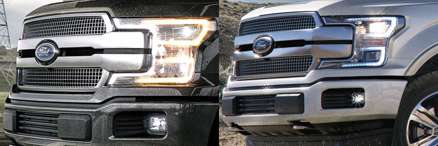 Used 2018 Ford F-150 Platinum vs Limited Style