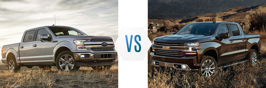 Ford F  Vs Chevrolet Silverado